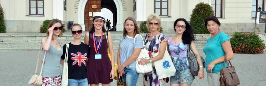 Na Zamku Królewskim w Lublinie
