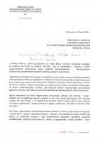 List Ministra Dziedziczaka- Berdyczów-page-0